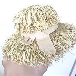 "87636b88c28 Vintage Accessories - Vintage 1950 s ""Happy Capper"" straw sun hat"